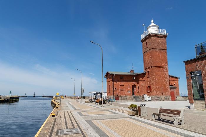 Darłowo latarnia-najlepsze miejscowości nad morzem Bałtyk Ranking plaż