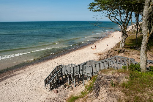 Dębina najlepsze miejscowości nad morzem plaże nad Bałtykiem opinie zdjęcia