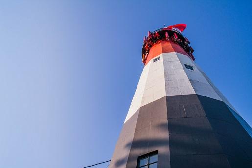 latarnia morska Stilo Osetnik plaże nad Bałtykiem najlepsze miejsca
