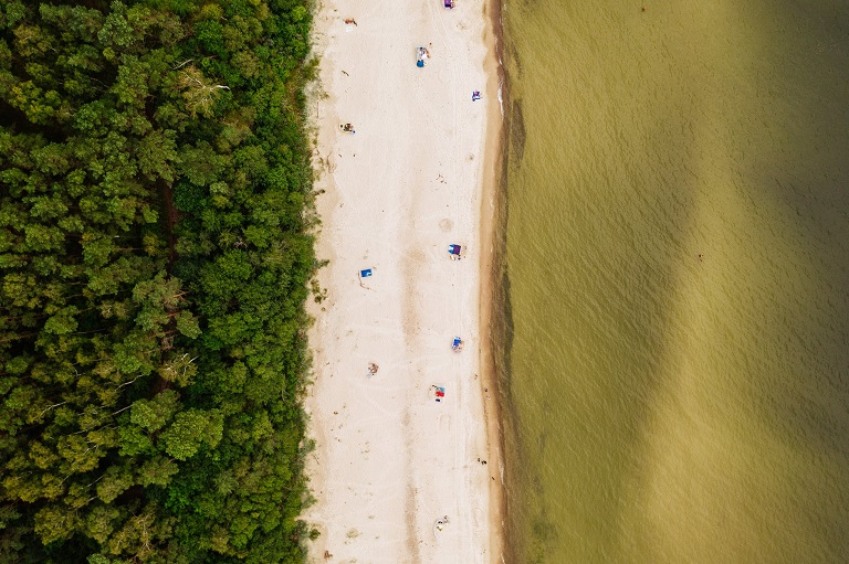łukęcin najlepsze plaże ranking miejscowości nadmorskich