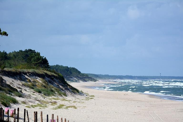 najlepsze plaże bałtyk ranking miejscowości nadmorskich dąbki