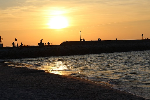 ustka najlepsze plaże ranking miejscowości nadmorskich atrakcje