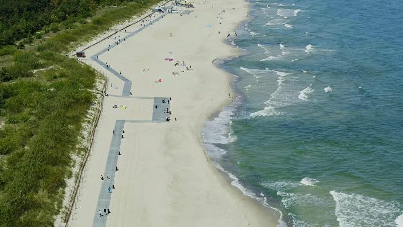 zdjęcia władysławowo plaża najlepsze nad morzem Bałtyk ranking opinie