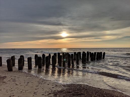 Mielenko najmniejsze miejscowości nad morzem Bałtyk plaże Ranking opinie ciche małe miejsca