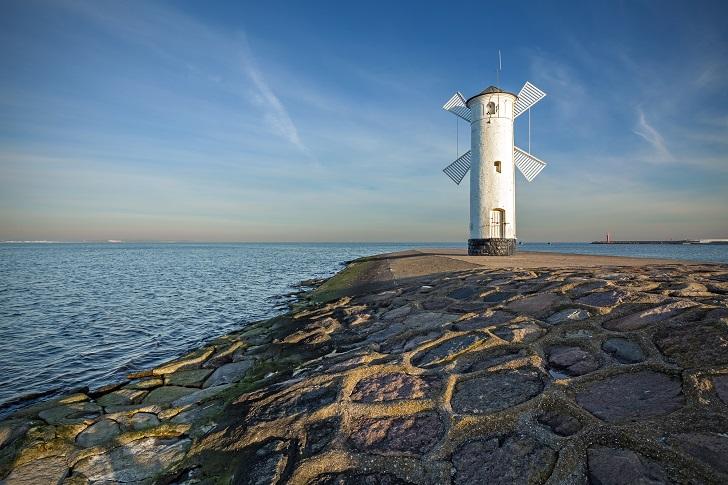 Świnoujście najlepsze miejsca nad Bałtykiem nad morzem Ranking plaż