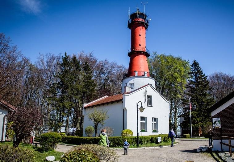 latarnia rozewie najładniejsze nad Bałtykiem morzem latarnie