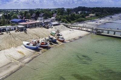 najmniejsze miejscowości nad morzem Bałtyk Ranking plaż Chłopy